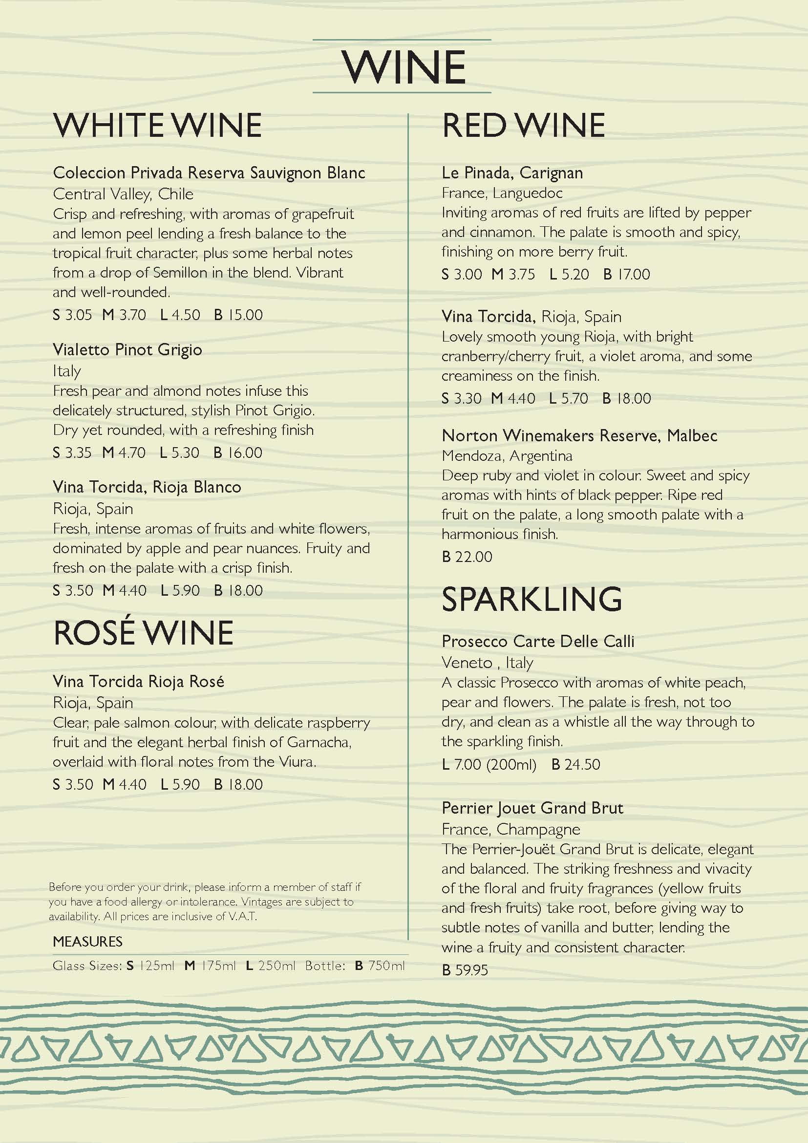 A5 bookfold Wine Menu A5BOOKFOLDWINE027_