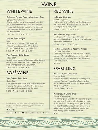 A5 bookfold Wine Menu A5BOOKFOLDWINE027_