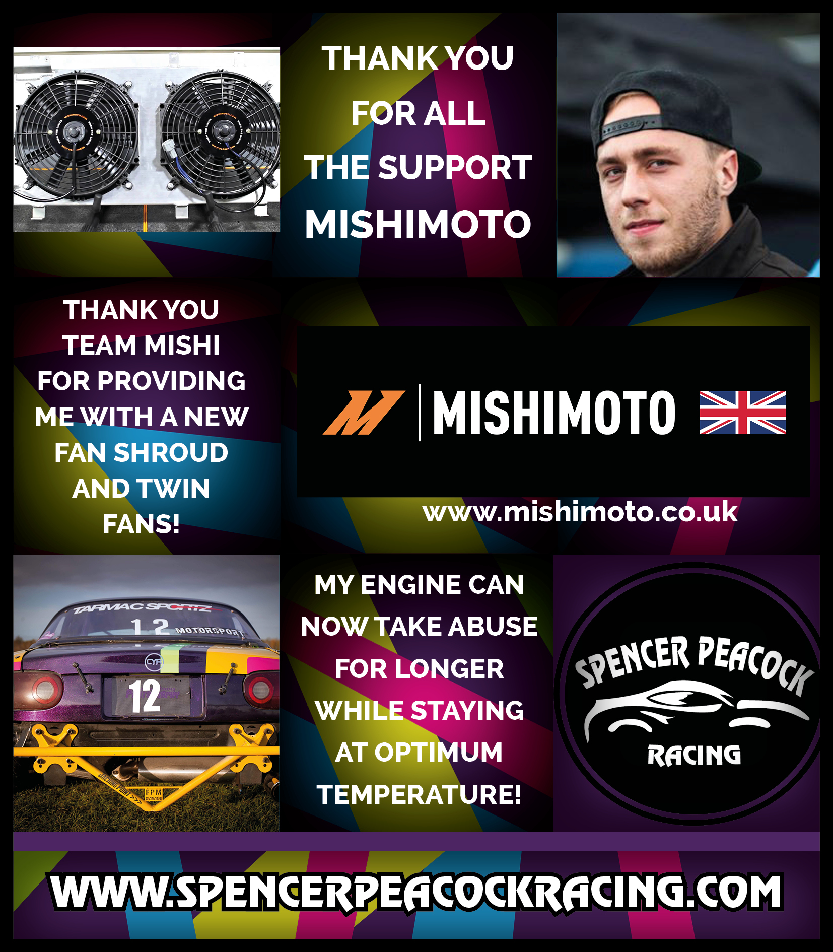 THANK YOU TO MISHIMOTO MARCH 2018