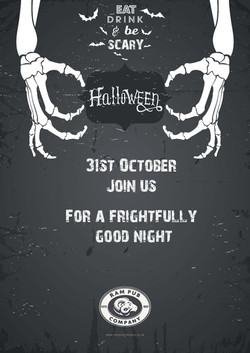 Louise Halloween GENERIC 6 Poster Templa