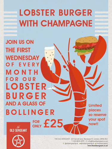 1283 The Old Sergeant Wednesday Lobster