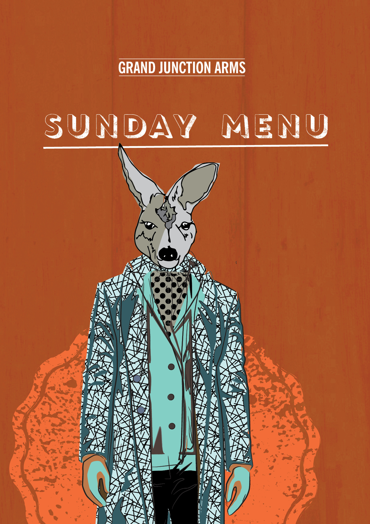 GRAND Junction Arms WINTER SUNDAY Menu N