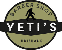 Yeti Logo 4 Green on black with black Yeti white Yeti word