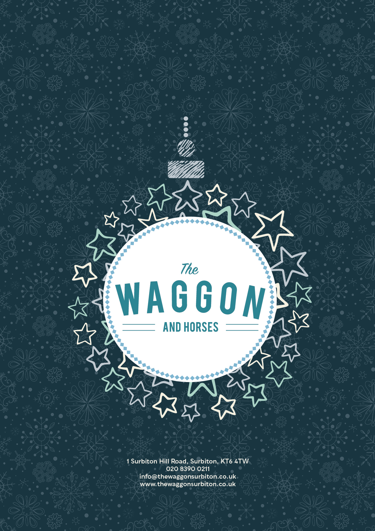 Waggon and Horses Surbiton Christmas Buf