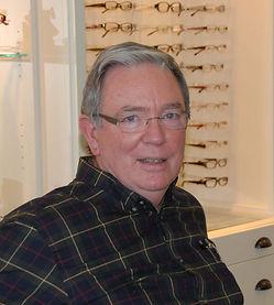 optician Bill Foreman