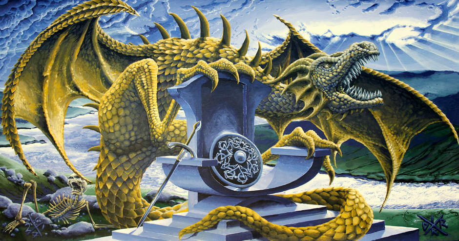 Dragon over Scalloway