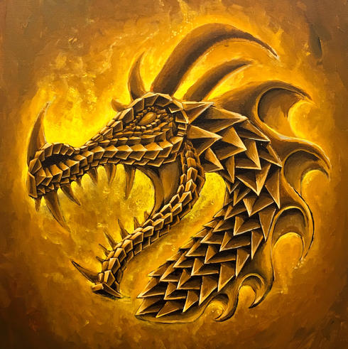 Up Helly A 2019 dragon