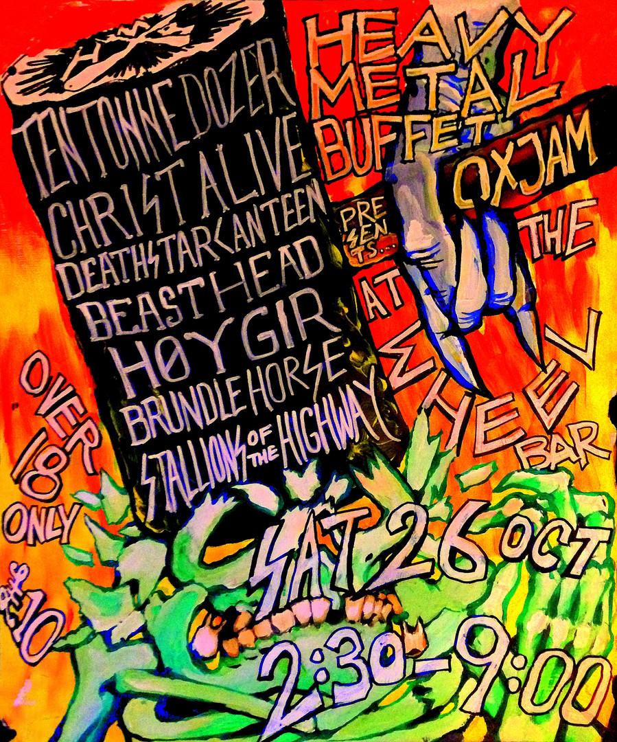 Heavy Metal Buffet at Oxjam 2013