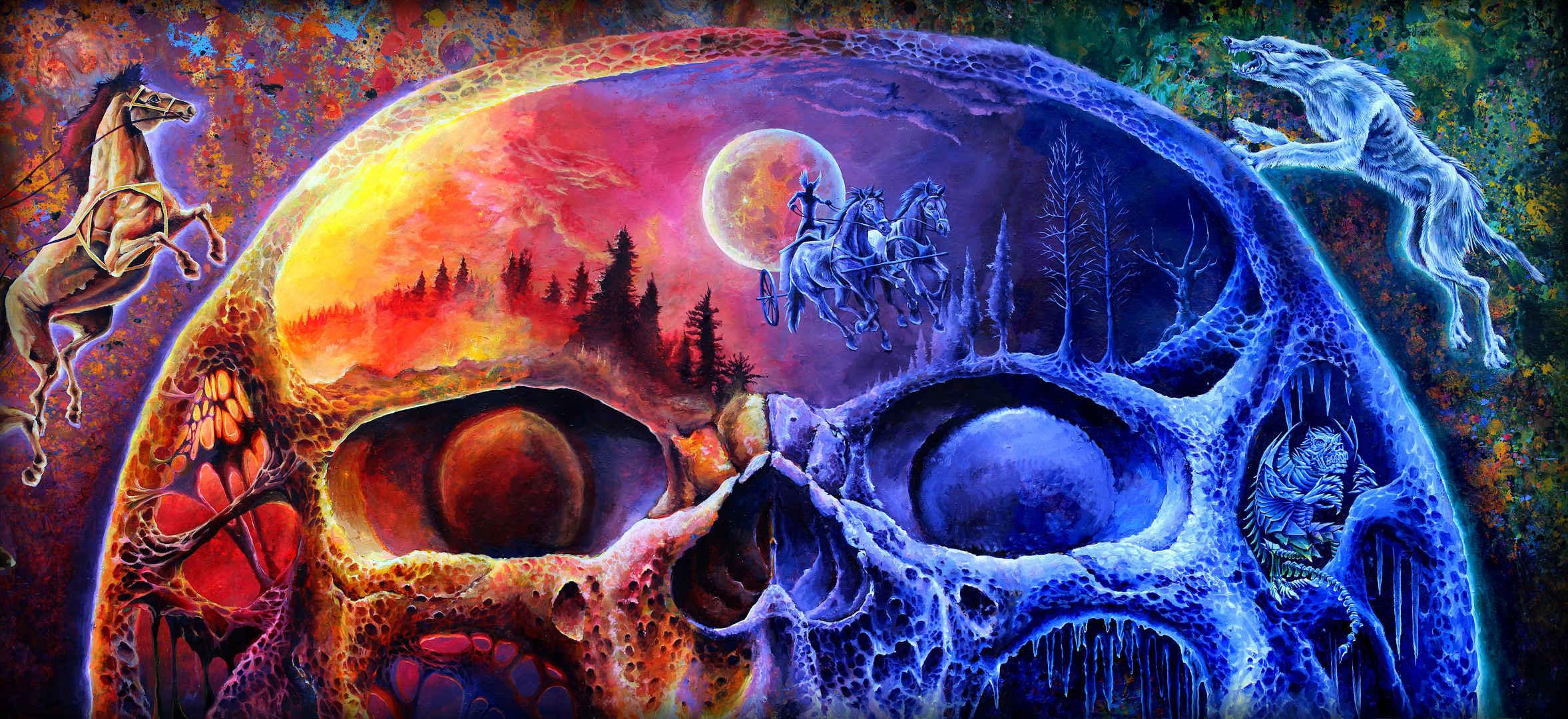 Ymir's skull