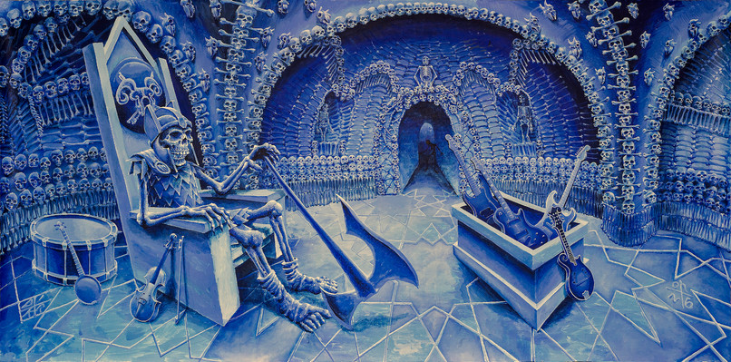 Original artwork for Skeletons