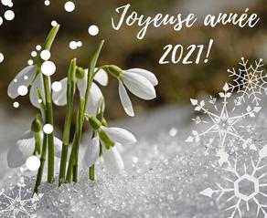 Une nouvelle année commence !