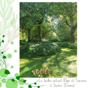 Le jardin naturel d'Igor et Tamara aux Prés de Gittonville, à Saclas (91)
