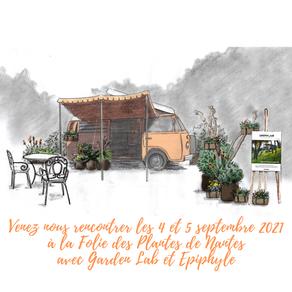 Rouge Pivoine à la Folie des Plantes au Parc du Grand Blottereau à Nantes les 4 et 5 septembre 2021!