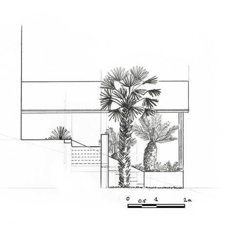 Aménagement d'un petit jardin à fort dénivelé