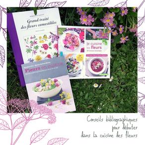 Fleurs comestibles : conseils bibliographiques