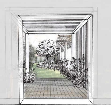 Jardin caché