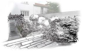 Nouveau projet de jardin dans le centre de Nantes