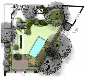 Nouveau projet : Rénovation d'un ancien jardin et intégration d'une piscine dans le centre de Nantes