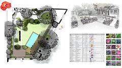 Rénovation d'un vieux jardin, création d'une piscine