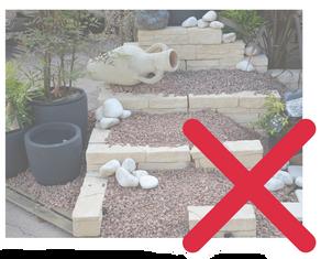 "Les ""jardins de pierres"" interdits en Allemagne"