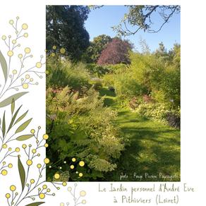 Le jardin personnel d'André Eve à Pithiviers (Loiret 45)