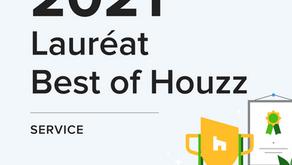 Prix Best of Houzz 2021