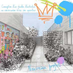 Nouveau projet : conception d'un jardin d'artistes à Trentemoult (Rezé)