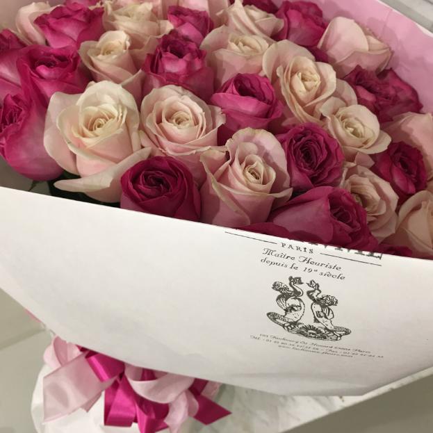 Bouquet Mélodie de roses