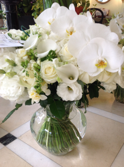Bouquet pureté blanche