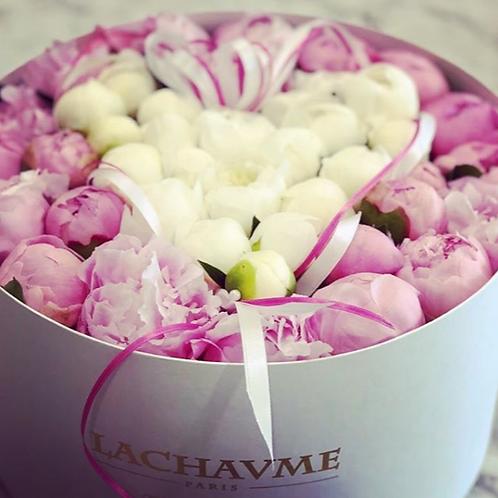 Le Coffret de fleurs sur mesure Lachaume Custum box of flowers