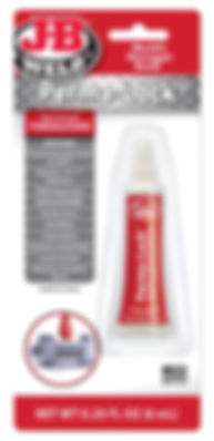 27106 - Red Hi-Strength Threadlocker - 6