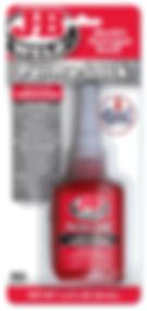 27136 - Red Hi-Strength Threadlocker - 3
