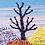 Thumbnail: SNOWY WINTER SEASON -JUTE WALL HANGING