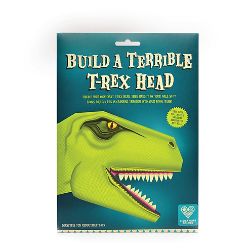 Build A Terrible T-Rex Head