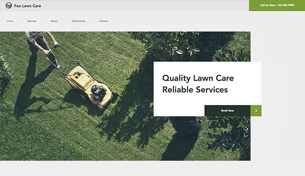 Services & Maintenance Website Templates | Business | Wix