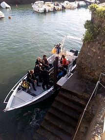 Notre bateau à Biarritz