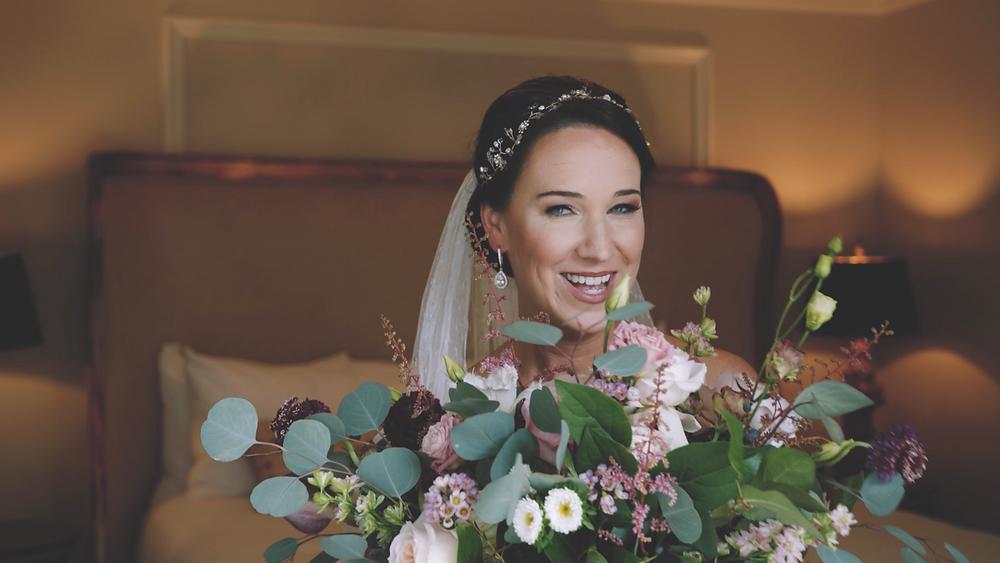 beautiful bride wedding video