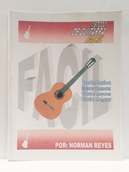 NORMAN REYES - METODO DE GUITARRA FACIL
