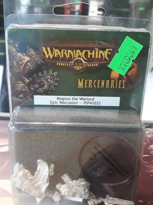 WARMACHINE MAGNUS THE WARLORD