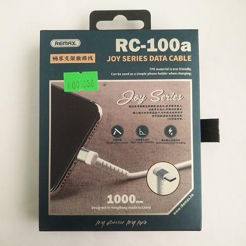 CABLE JOY SERIES COLOES RC-100A USB TIPO C REMAX