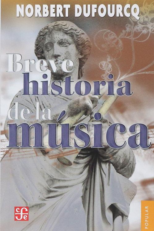 LIBRO: BREVE HISTORIA DE LA MUSICA