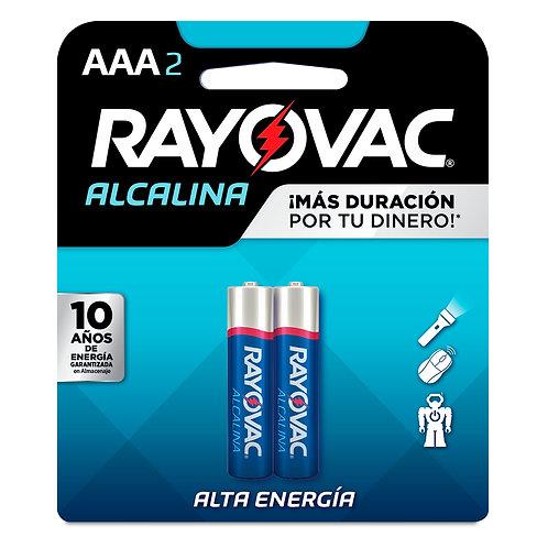 BATERIA RAYOVAC  AAA2