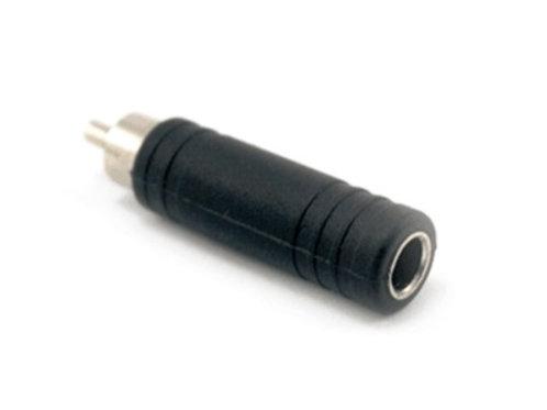 ADAPTADOR PLUG RCA A JACK 1/4 MONO P-257/SA155 GB0152 <GB SOUND>