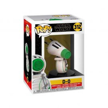 FIGURA DE ACCION FUNKO POP D-0 STAR WARS 312 <FUNKO>