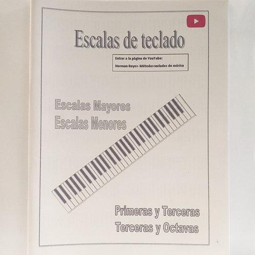 NORMAN REYES - ESCALAS DE TECLADO