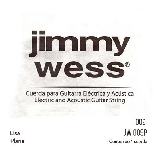 UNIDAD CUERDA PARA GUITARRA ELECTRICA 1ERA JWGE-009N <JIMMY WESS>