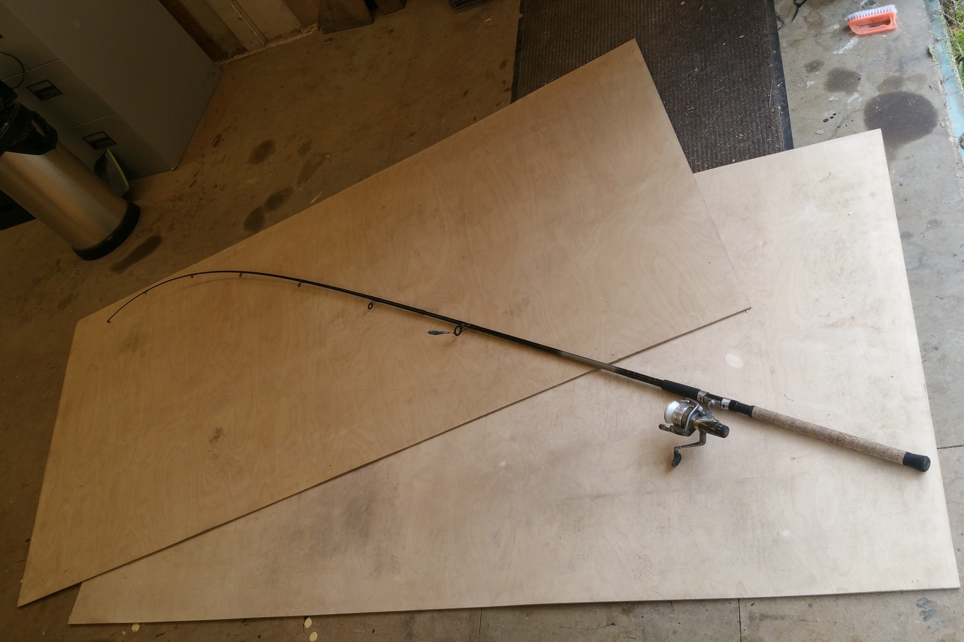 Two Sheets of Ply and a Fishing Rod