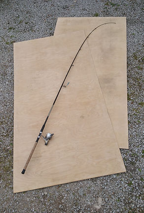Two sheets of ply and a fishing rod to make a commercial fishing boat wharram melanesia to ean the minimum wage sea fishing in cornwall - are you mad?