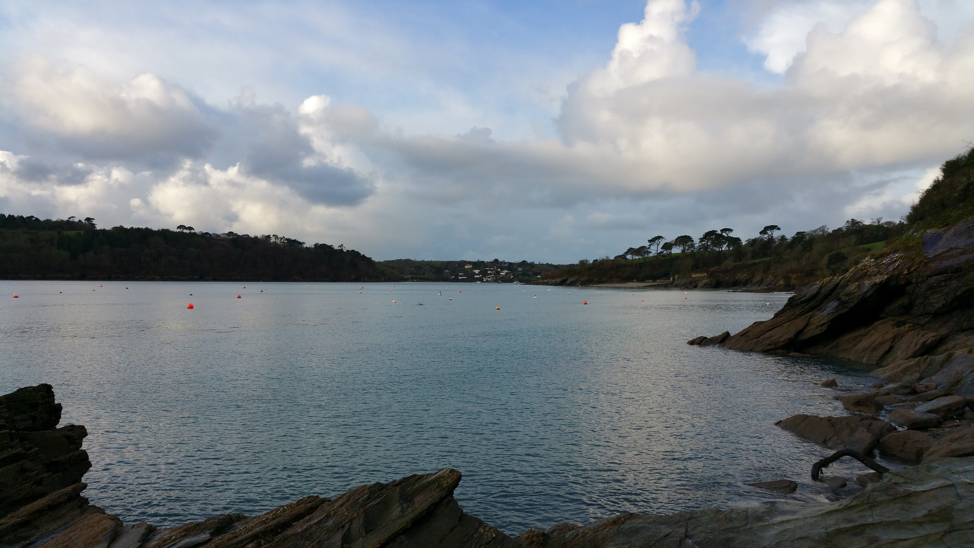 Up the Helford from Greeb