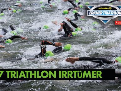 Die sieben größten Irrtümer über Triathlon